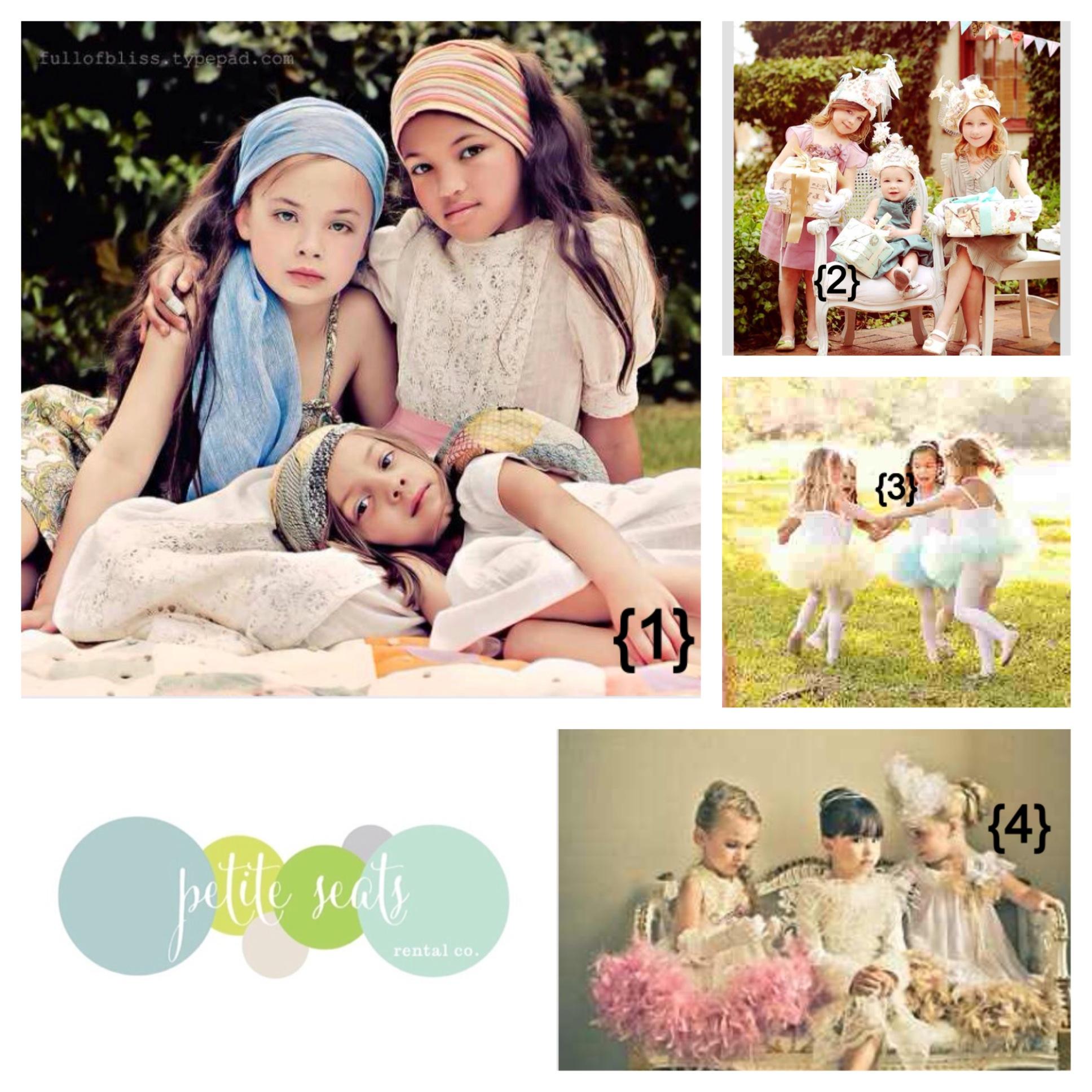 {1}  Close ups   {2}  Peekaboo Photos   {3}  Teacups + Tutus   {4}  Dimples + Dandelions