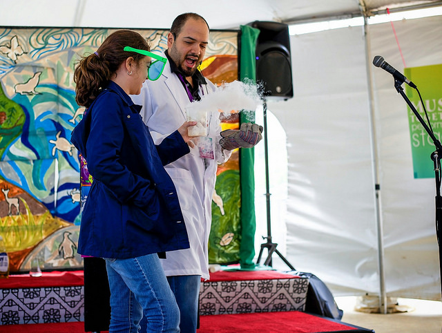 Mad Science on the Performance Stage ||  Photo Credit: Eryn Hatzithomas