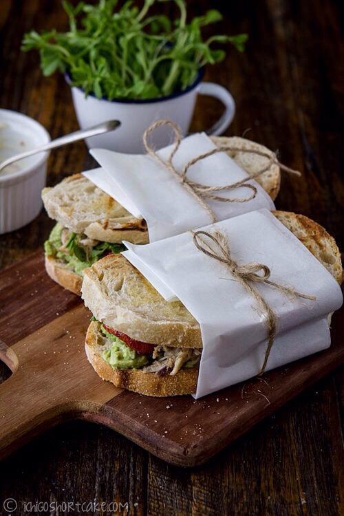 Sandwich Presentation