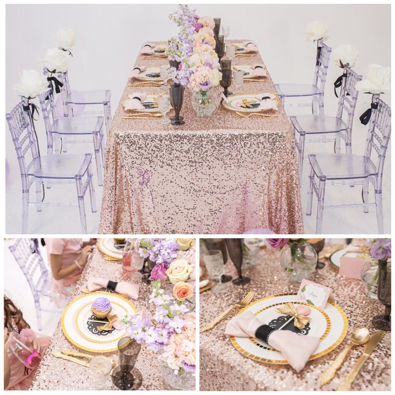 Abby of Pretty Posh Events styled her butt off