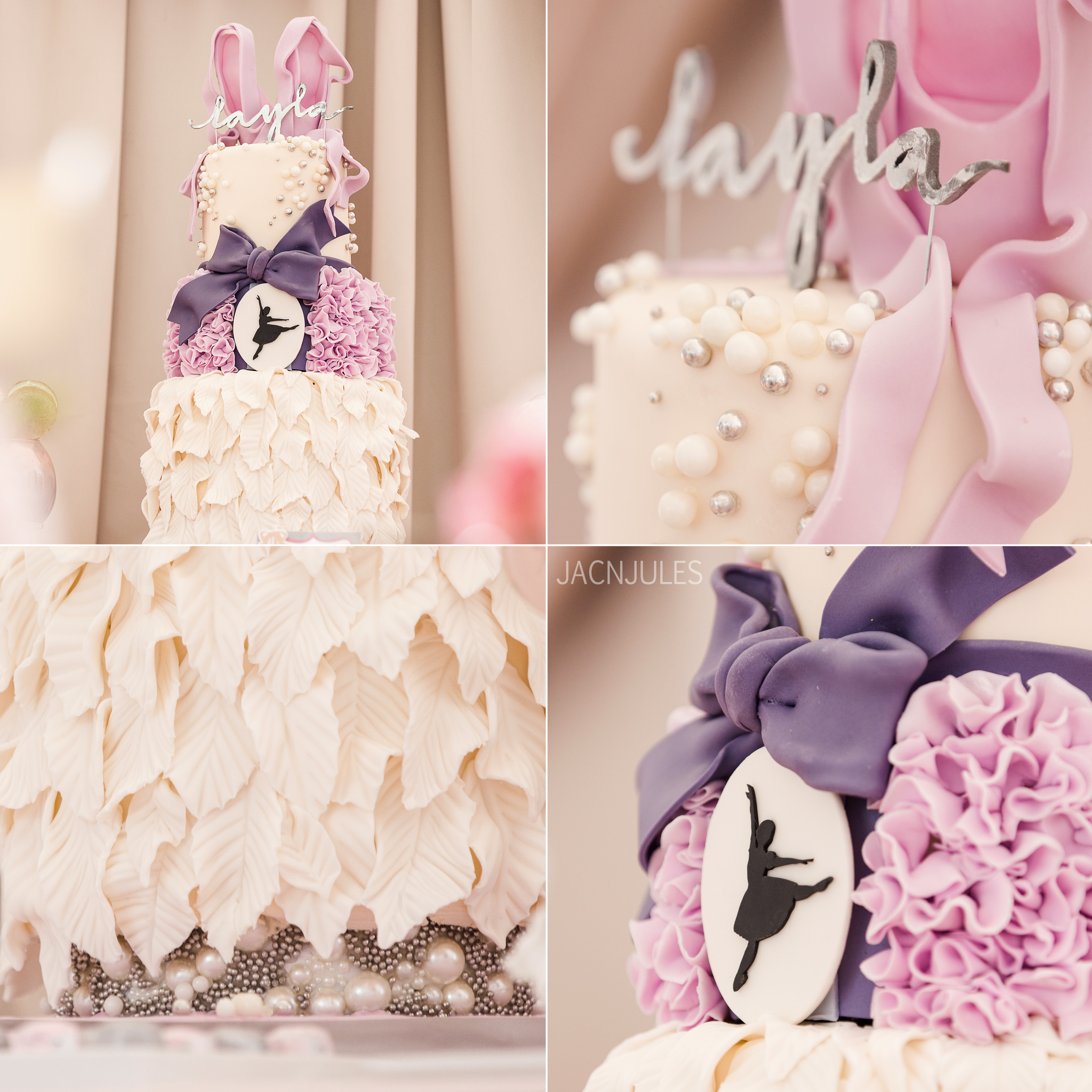 This amazingly designed cake was created by  Lulu Cake Boutique