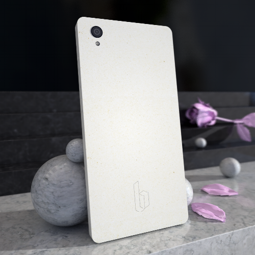 Bäckes SS16 Fiber Haptic - a new kind of locally grown mobile phone.