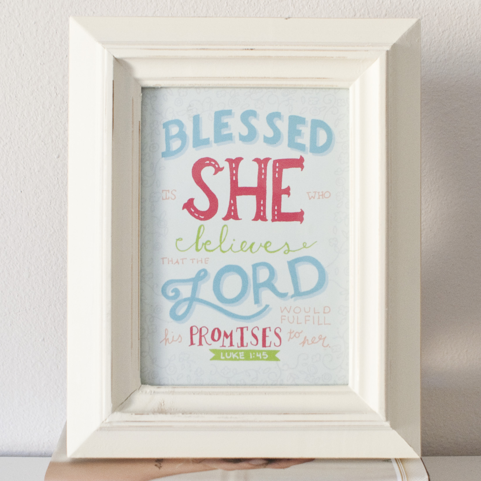 Blessed Is She - Anna Joy French Designs