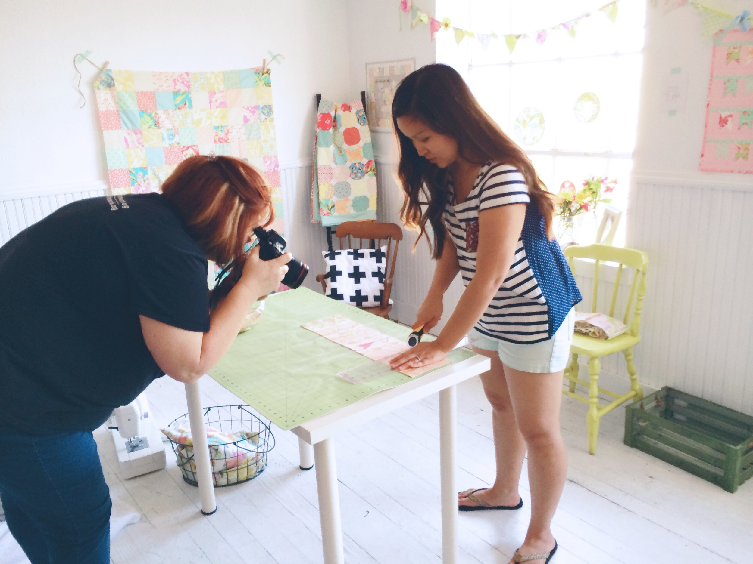 Michelle Monk Photography - The Joy of Quilting - Anna Joy French Designs