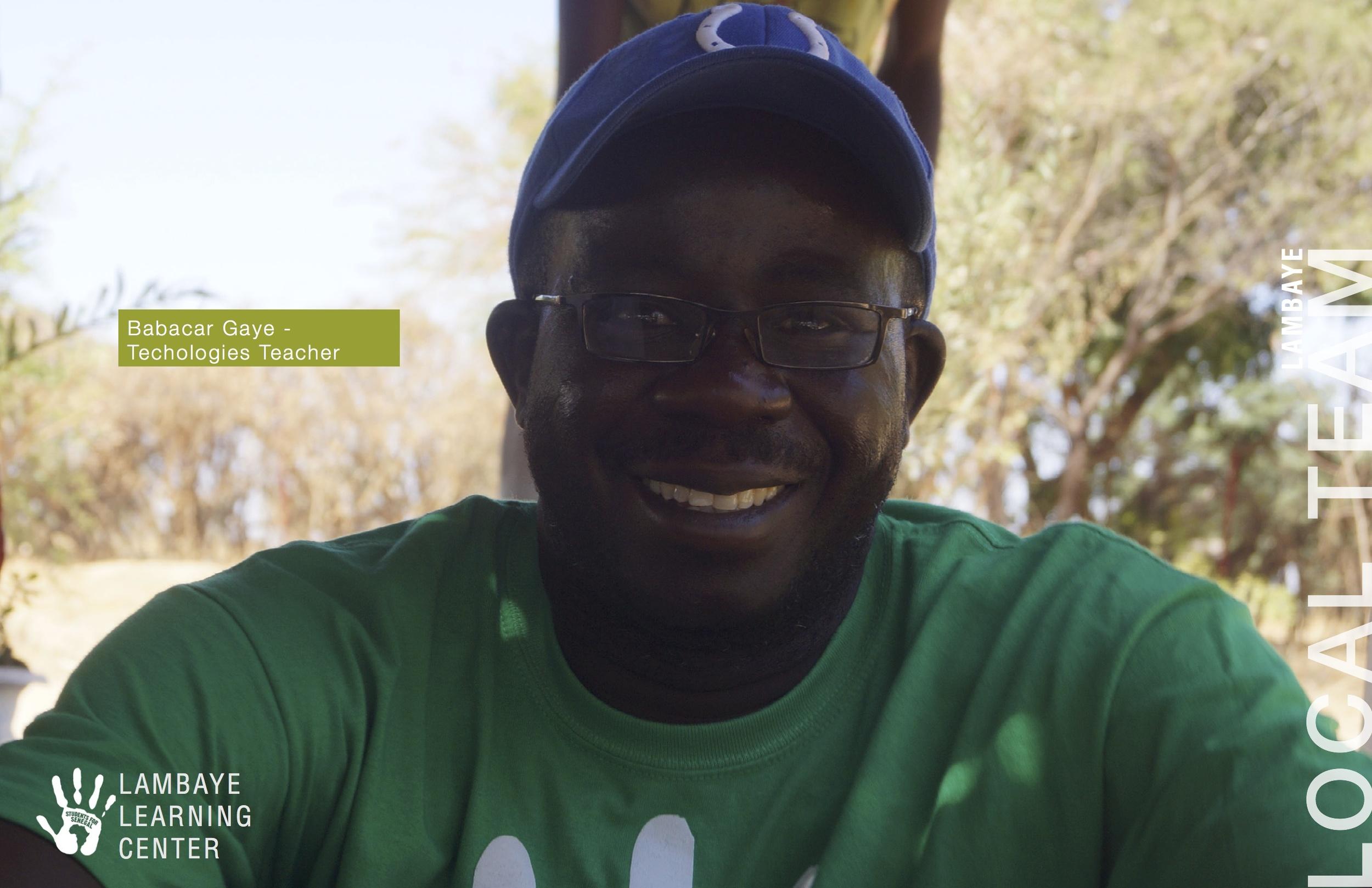 Babacar Gaye - Technologies Teacher