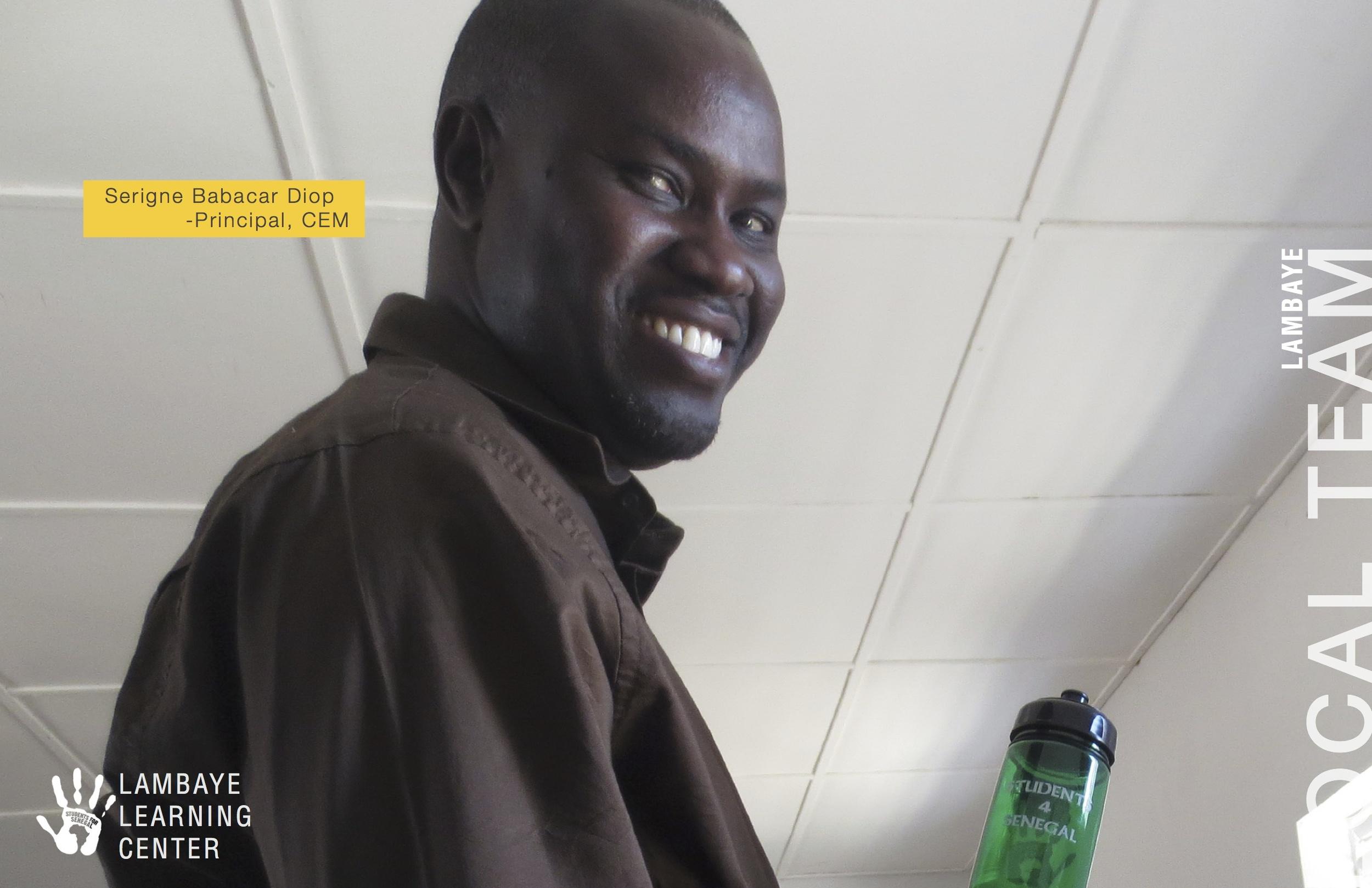 Serigne Babacar Diop - Principal, CEM