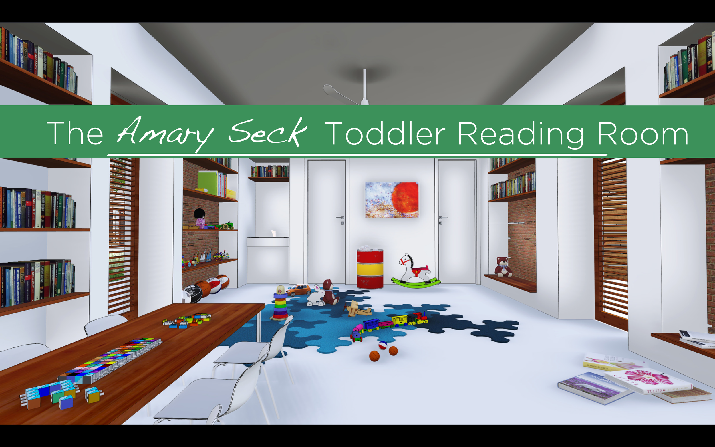 At SeneGALA 2015, we dedicated the toddler reading room to Amary Seck in honor of his work for the people of Lambaye and the hundred's of students that he inspired both in Mamaroneck and in Senegal.