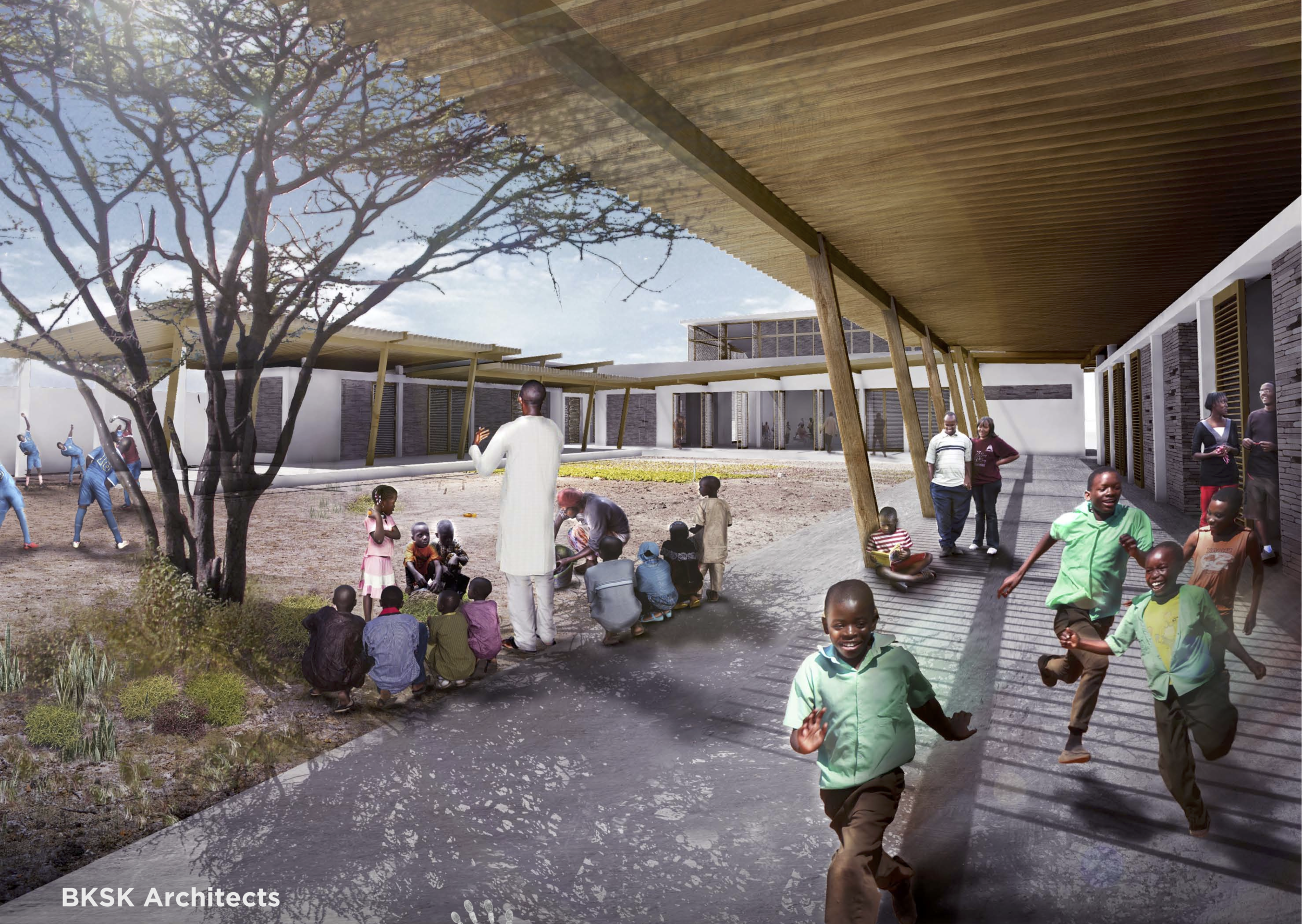 What We Do - We are building learning centers in Senegal. Our first one, the Lambaye Learning Center is currently under construction.