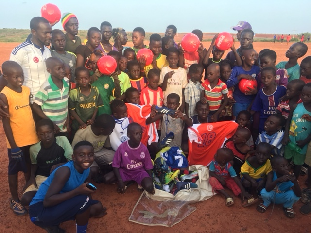We've shipped hundreds of boxes of clothing and schools to Senegal over the last 10 years