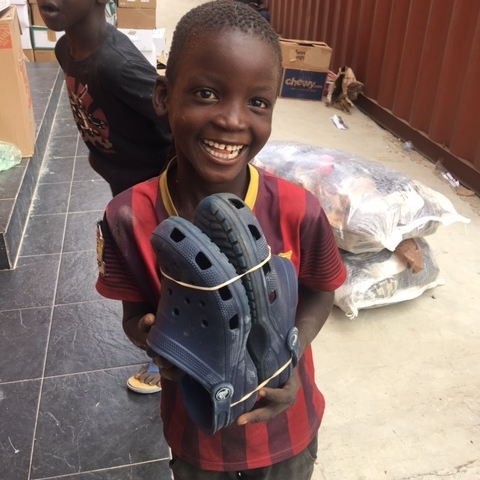 For Less Than $10, we can provide a pair of shoes to a student in Senegal. - Donate now