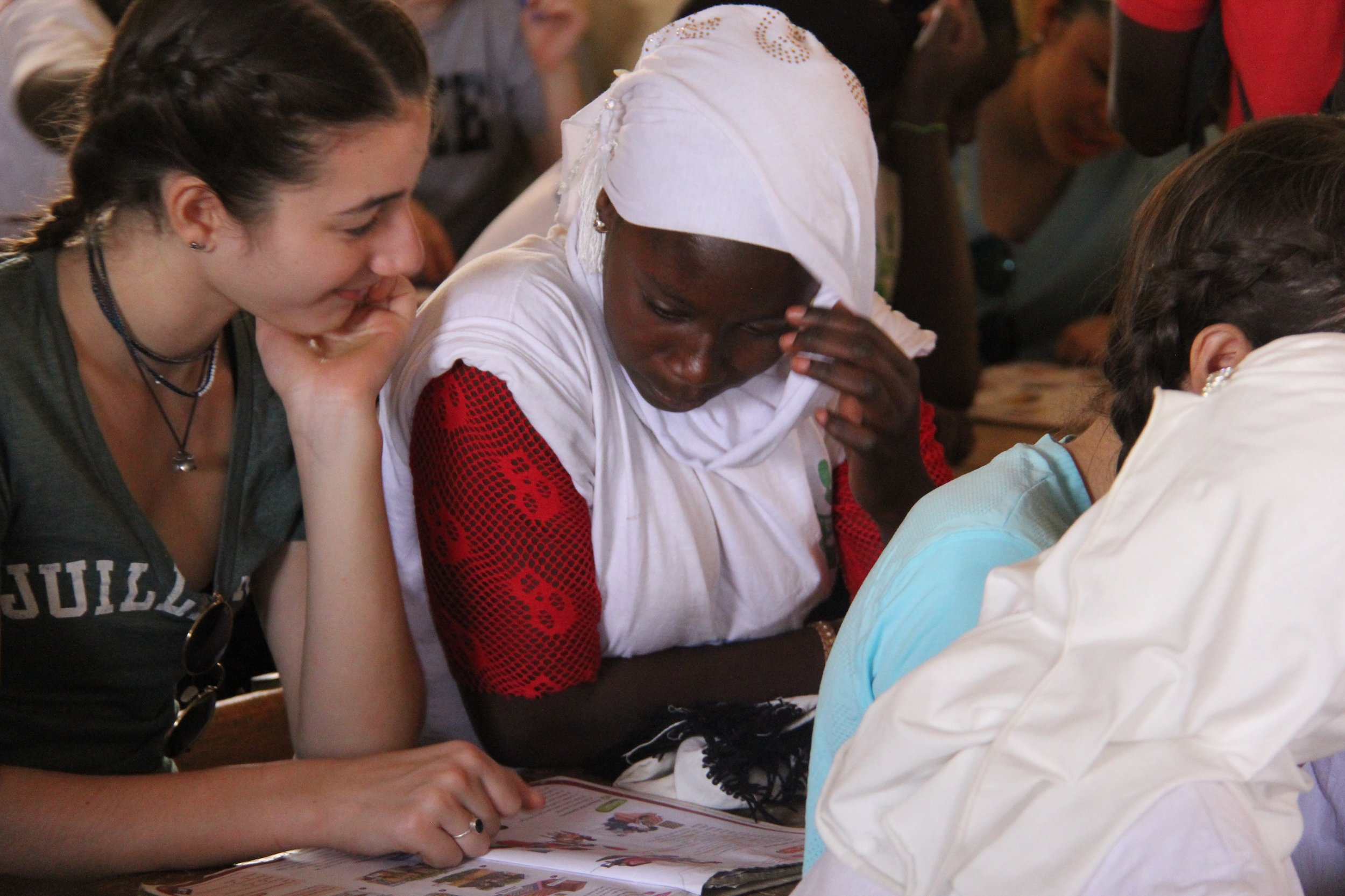 7 out of 8 Girls in Senegal won't go to high school - We fund girls education and built the Lambaye Learning Center so every woman and girl has an equal chance to get an education.