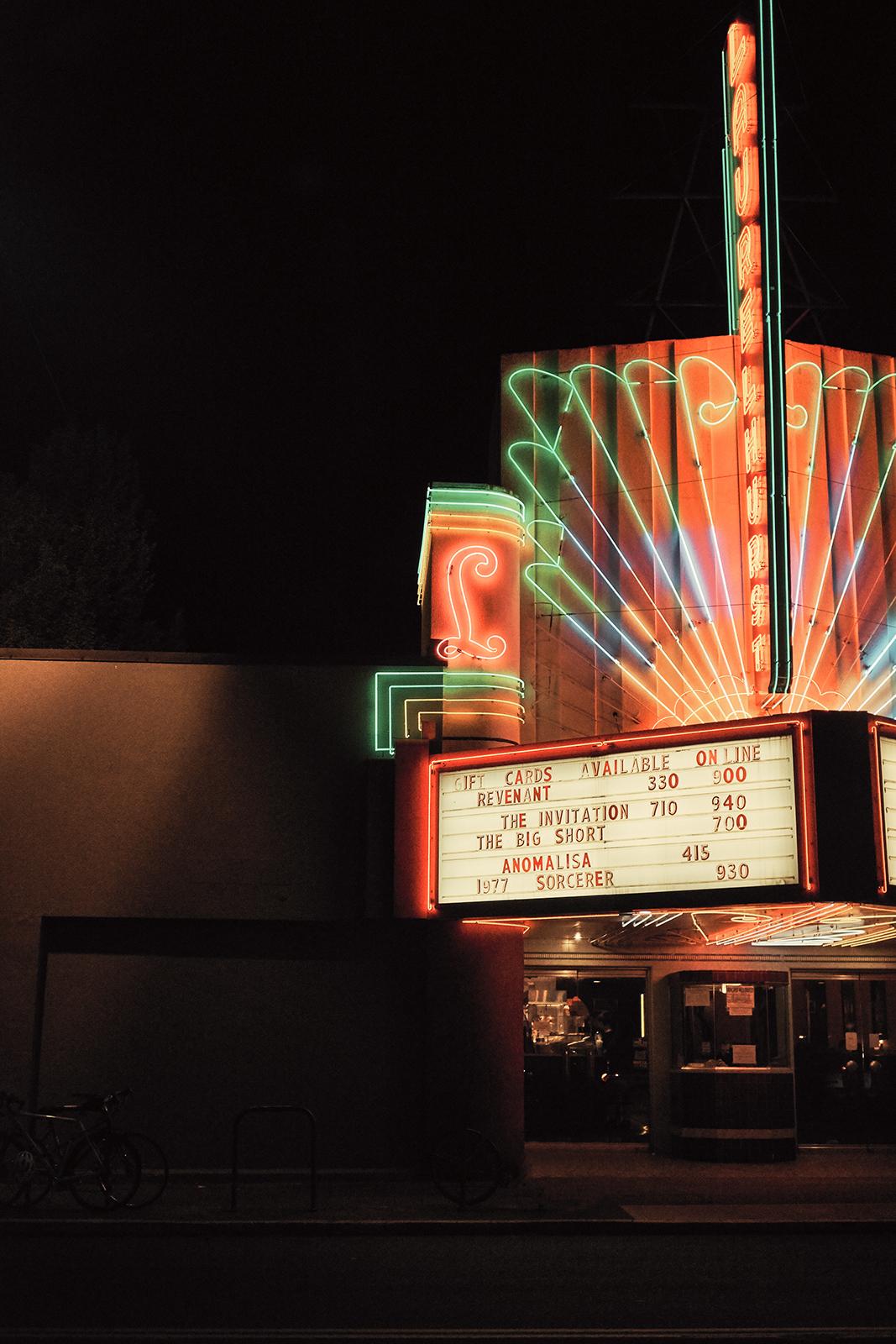 Laurelhurst Theater. Portland, OR