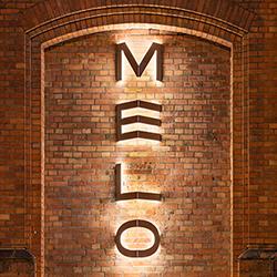 Custom-made sign - MELO