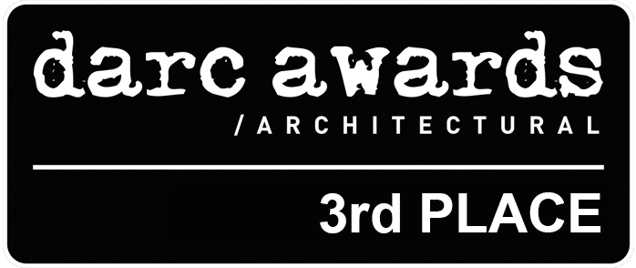 Our project have received the 3rd place in the category Best exterior scheme - low budget of the Darc Awards 2017.