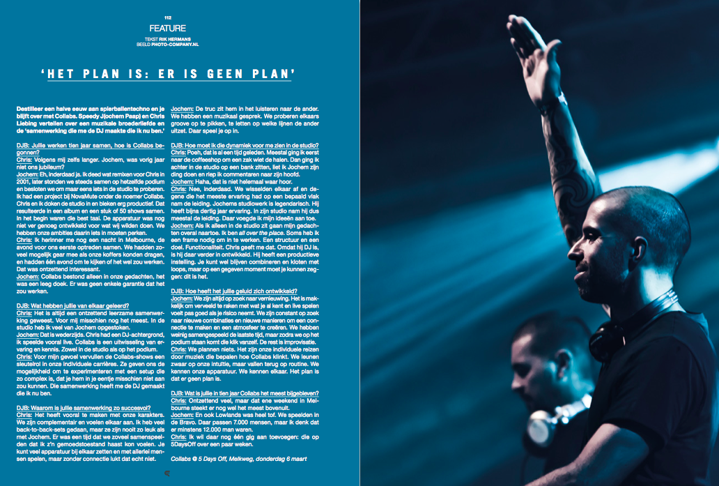 Dit interview verscheen in  DJBroadcast Magazine Issue 62