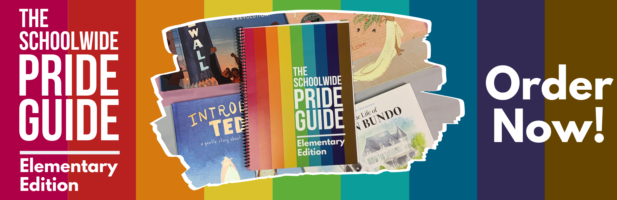 #SchoolwidePrideGuide - Order NOW by Clicking Here!