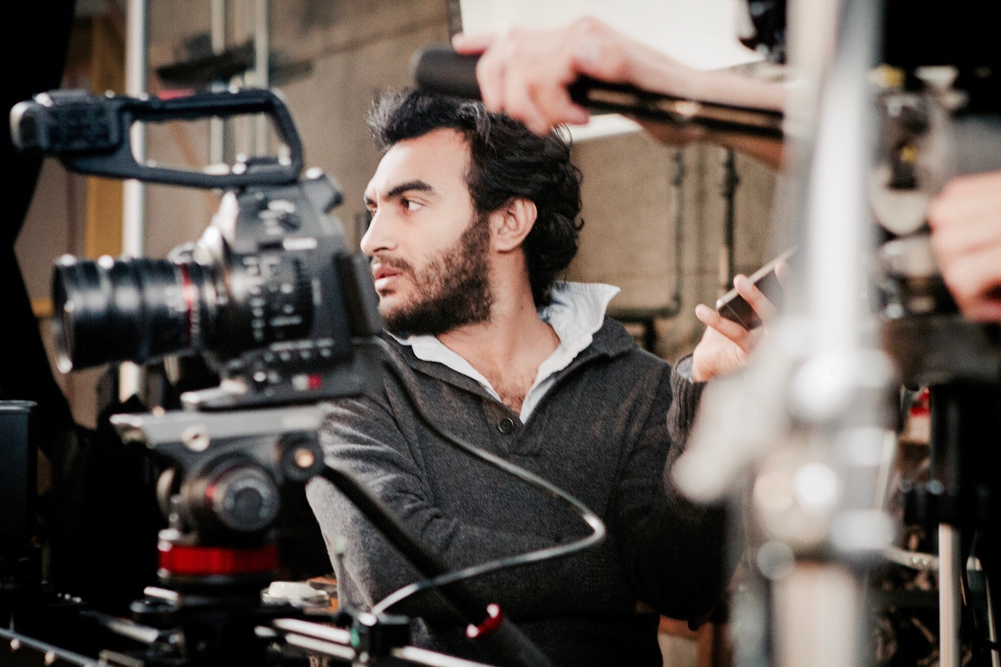 2014 - Ramy Directing a Pepsi Commercial at Tastemade Studios