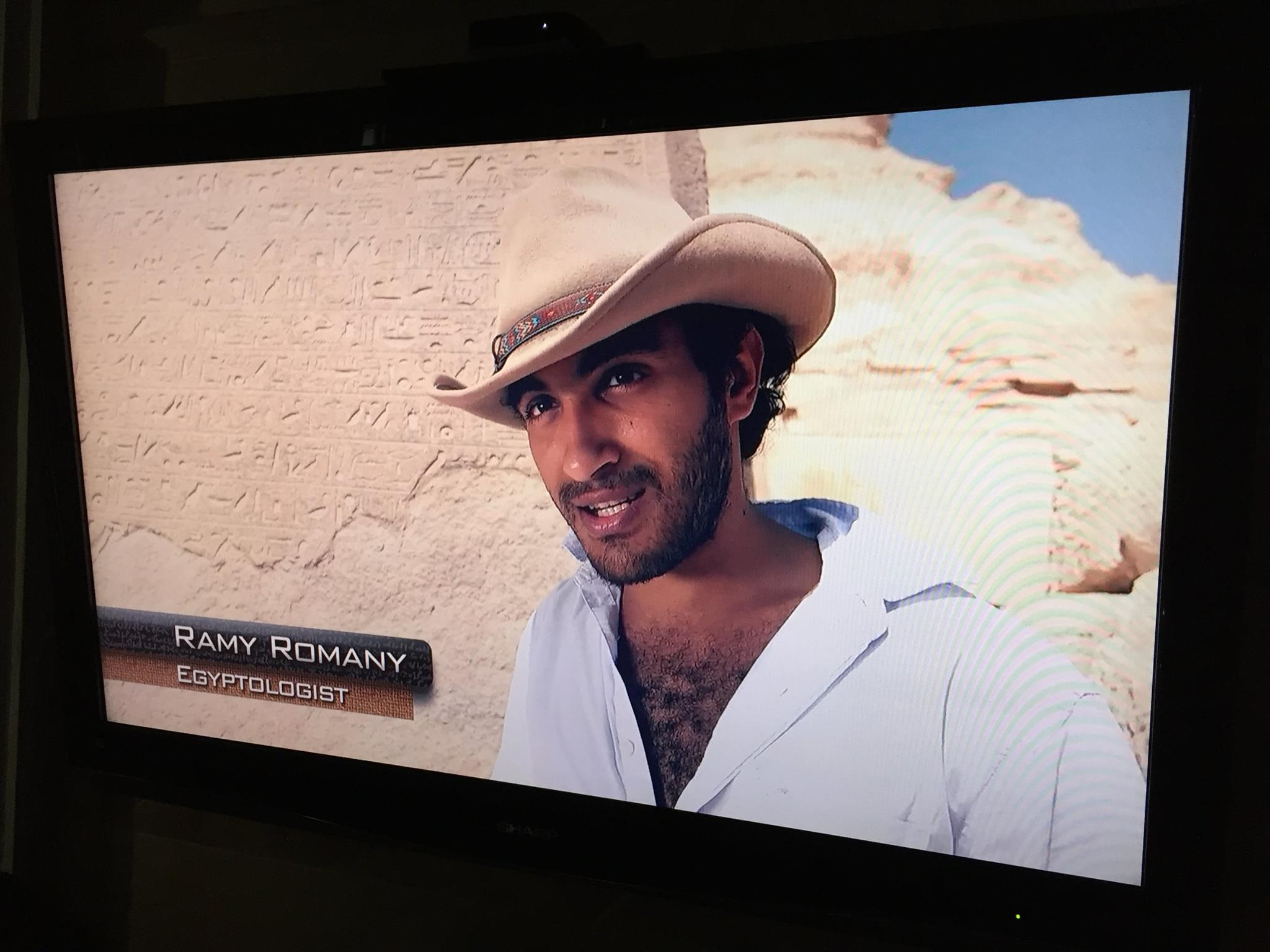 2014 - Ramy makes an appearane on History Channel's Ancient Aliens