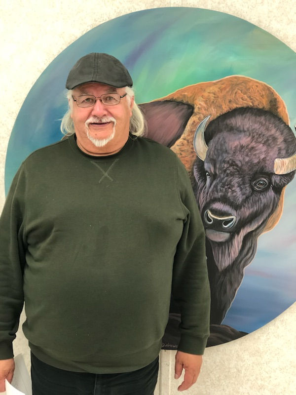 Joe Auger - Councillor Joe Auger moved to Little Buffalo to be closer to his parents and family; he quickly found job opportunities as a building contractor. A natural born craftsman councillor Joe Auger is good at working with his hands. This is his second term as a Lubicon Lake Band councillor, he is thankful for being voted for by the Lubicon Lake Band members. Councillor Joe Auger initially ran for council because he wanted to see positive change in the community; since reaching that objective, he would like to be a part of the continued momentum in the community. Councillor Joe Auger has promised to commit himself to the band members for another term. His leadership role is important to him because he believes he can play a valuable role as councillor and member to the band. Councillor Joe Auger would like to see the land claims resolved, and to see members with housing and other services that enable them to thrive. Councillor Auger looks after Emergency Services, Housing/Public Works portfolios.