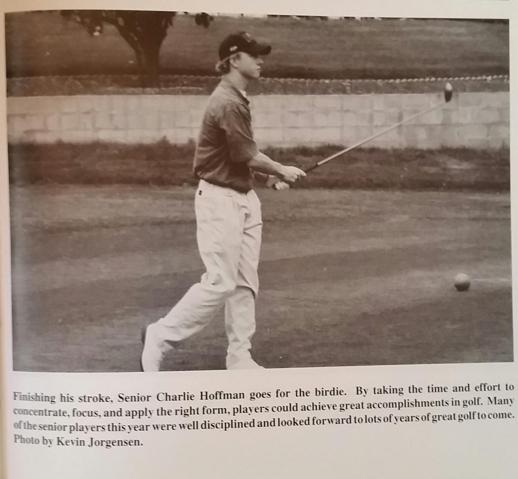 Charley Hoffman - Poway High School Golf