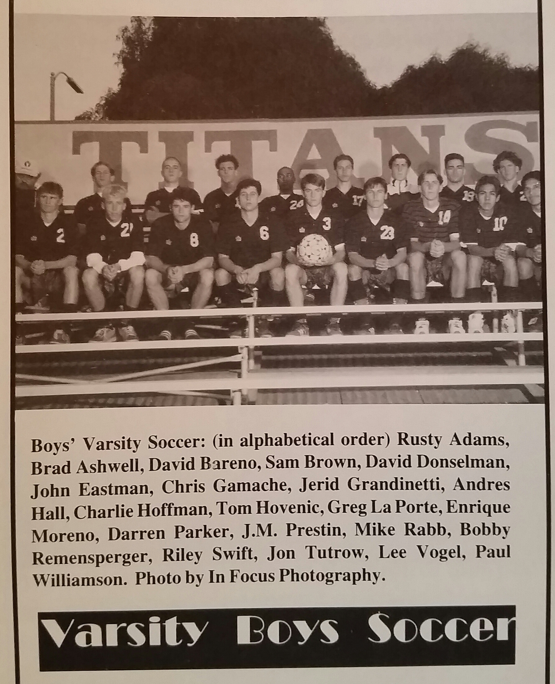 Charley Hoffman - Poway High School Soccer