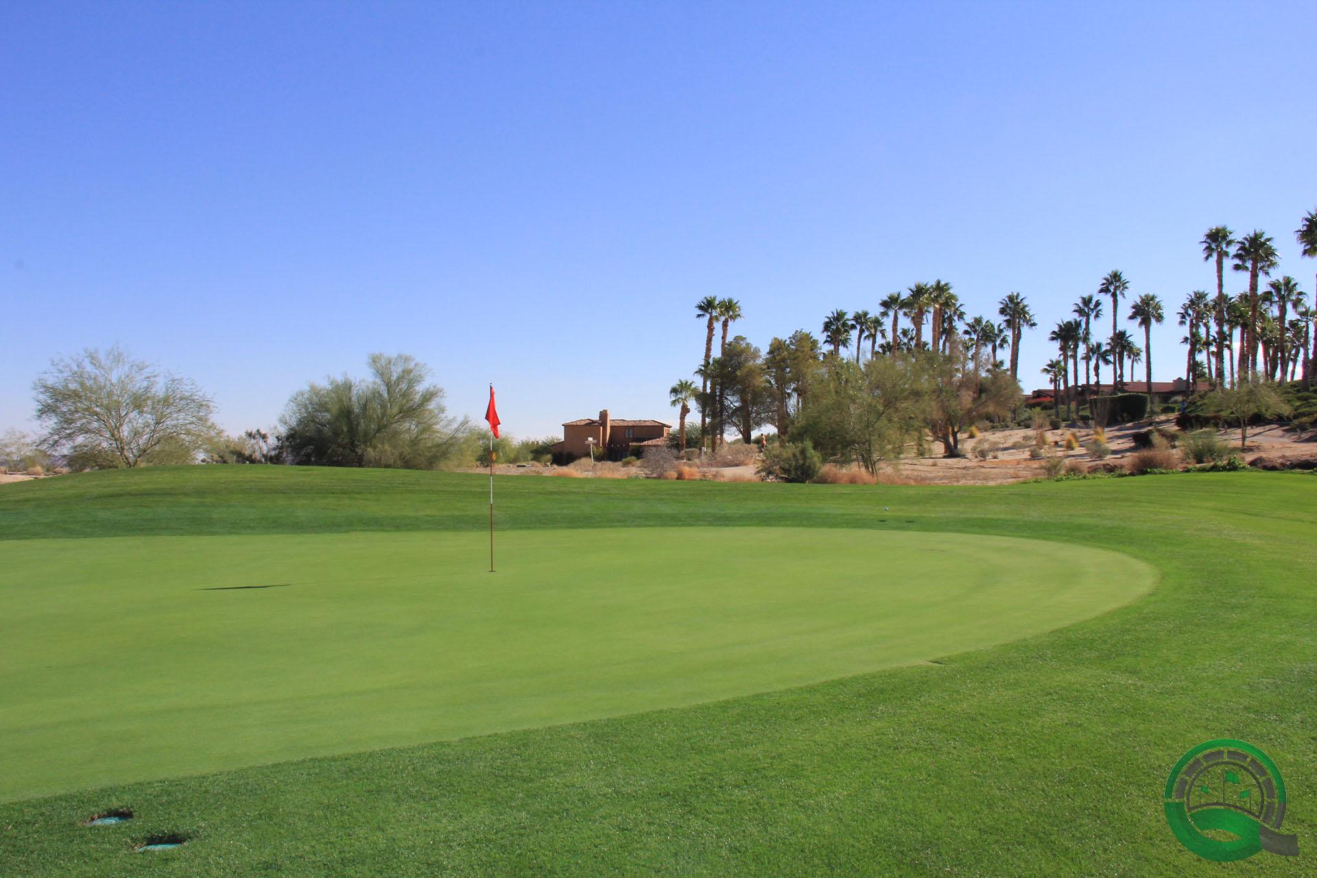 Rams Hill Golf Club Hole 1 Green