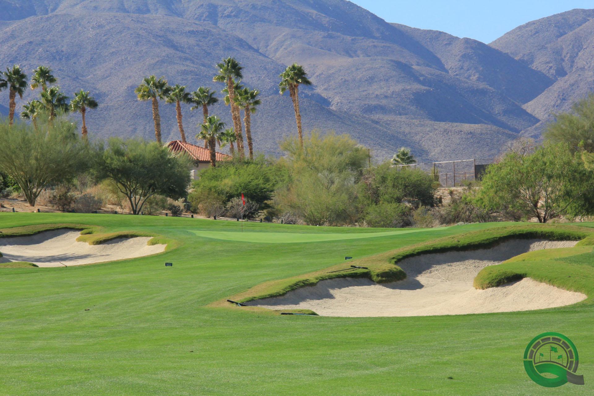 Rams Hill Golf Club Hole 2 Green