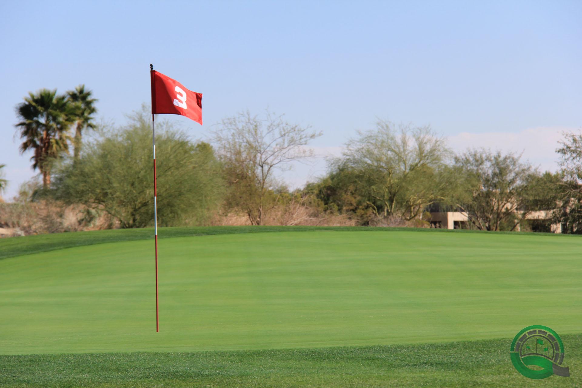 Rams Hill Golf Club Hole 3 Green
