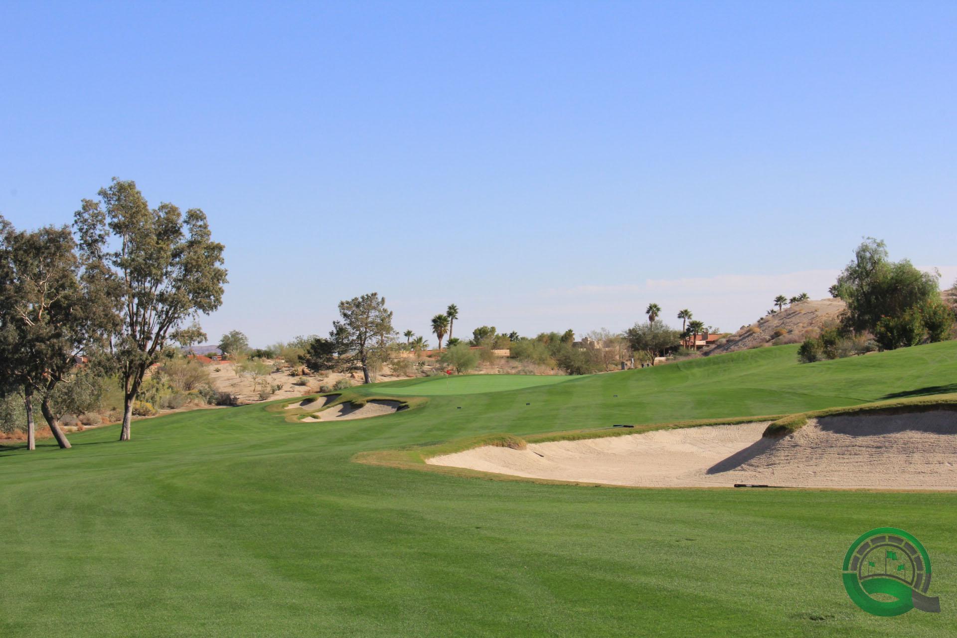 Rams Hill Golf Club Hole 3 Fairway Bunker
