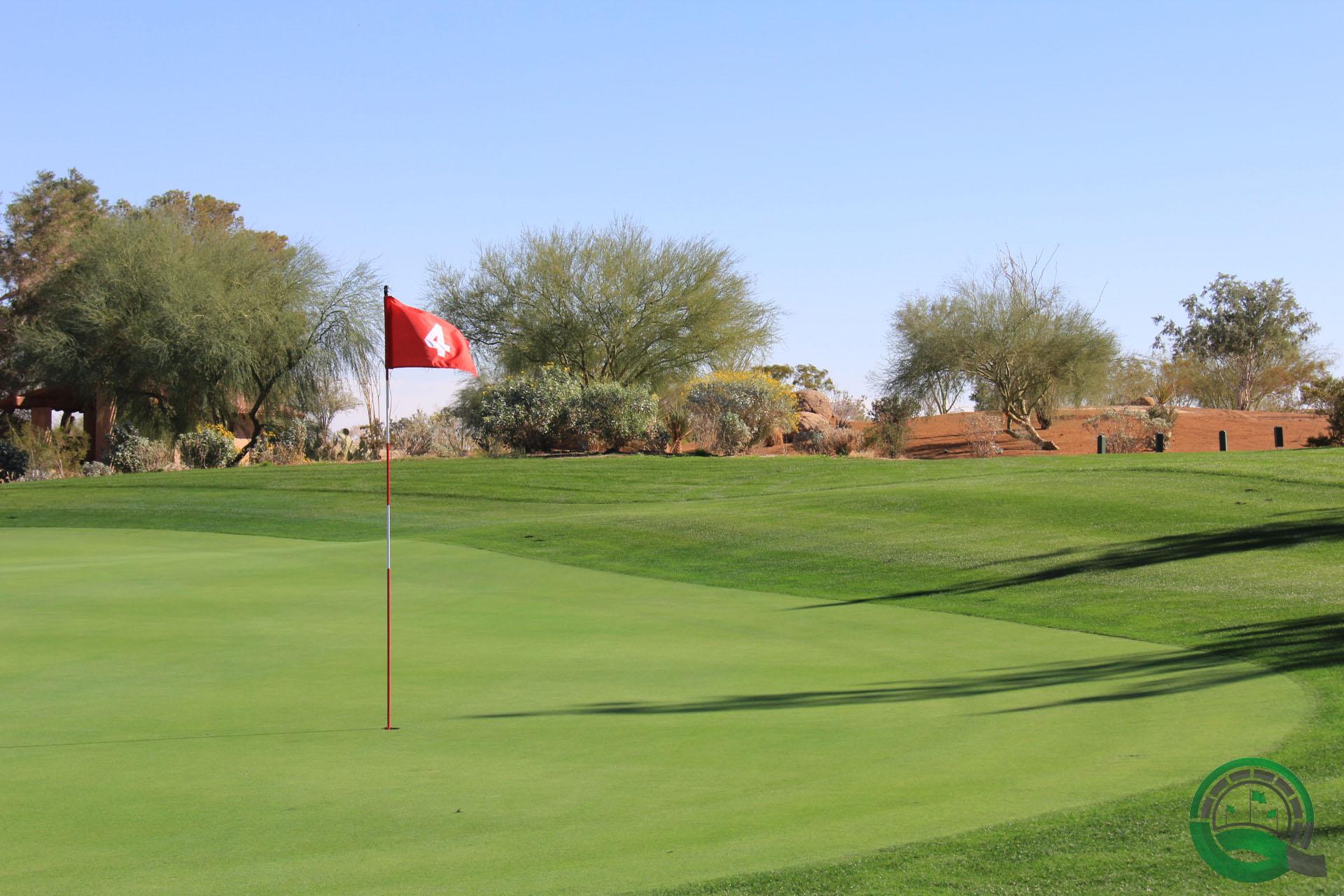 Rams Hill Golf Club Hole 4 Green