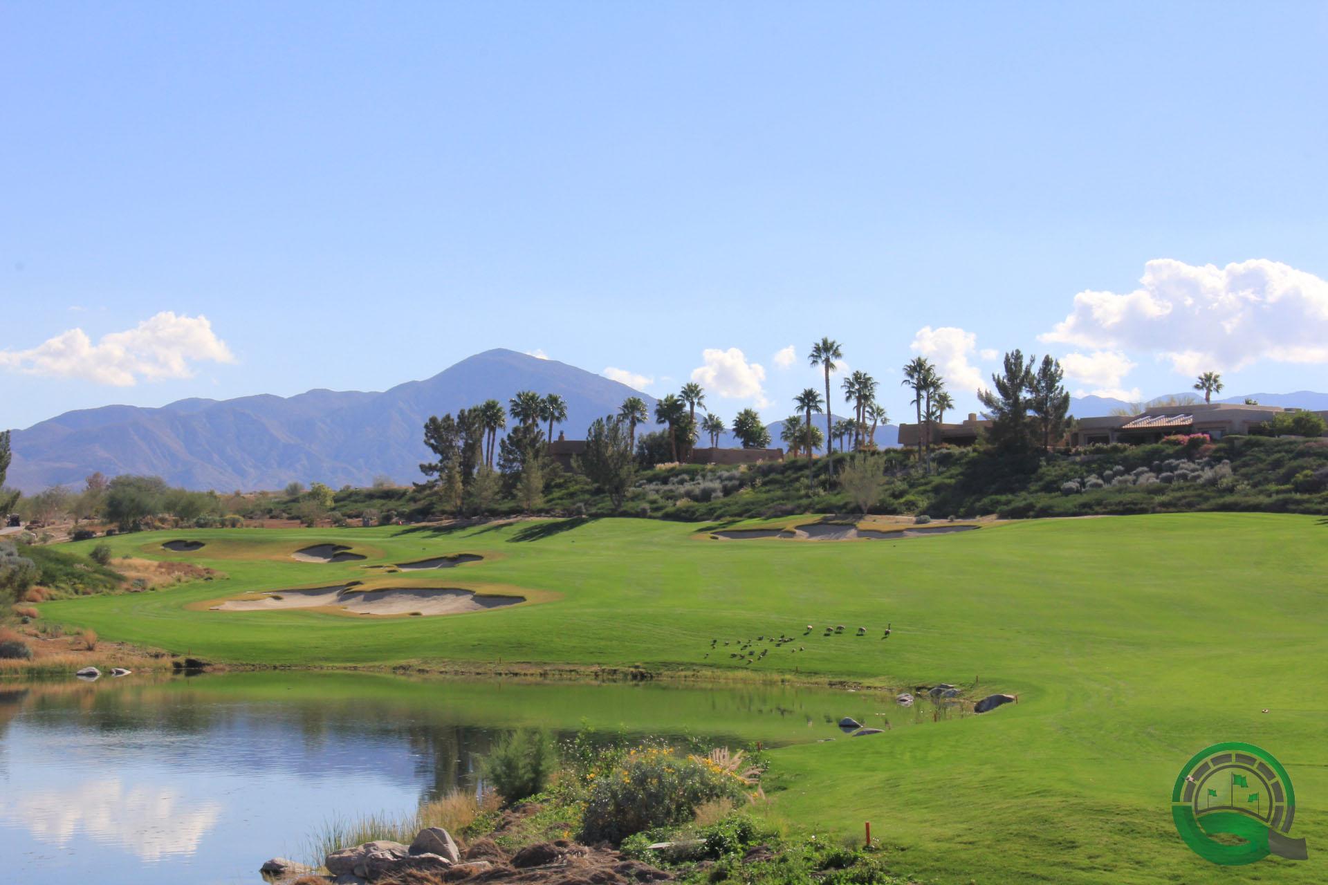 Rams Hill Golf Club Hole 4 Lake