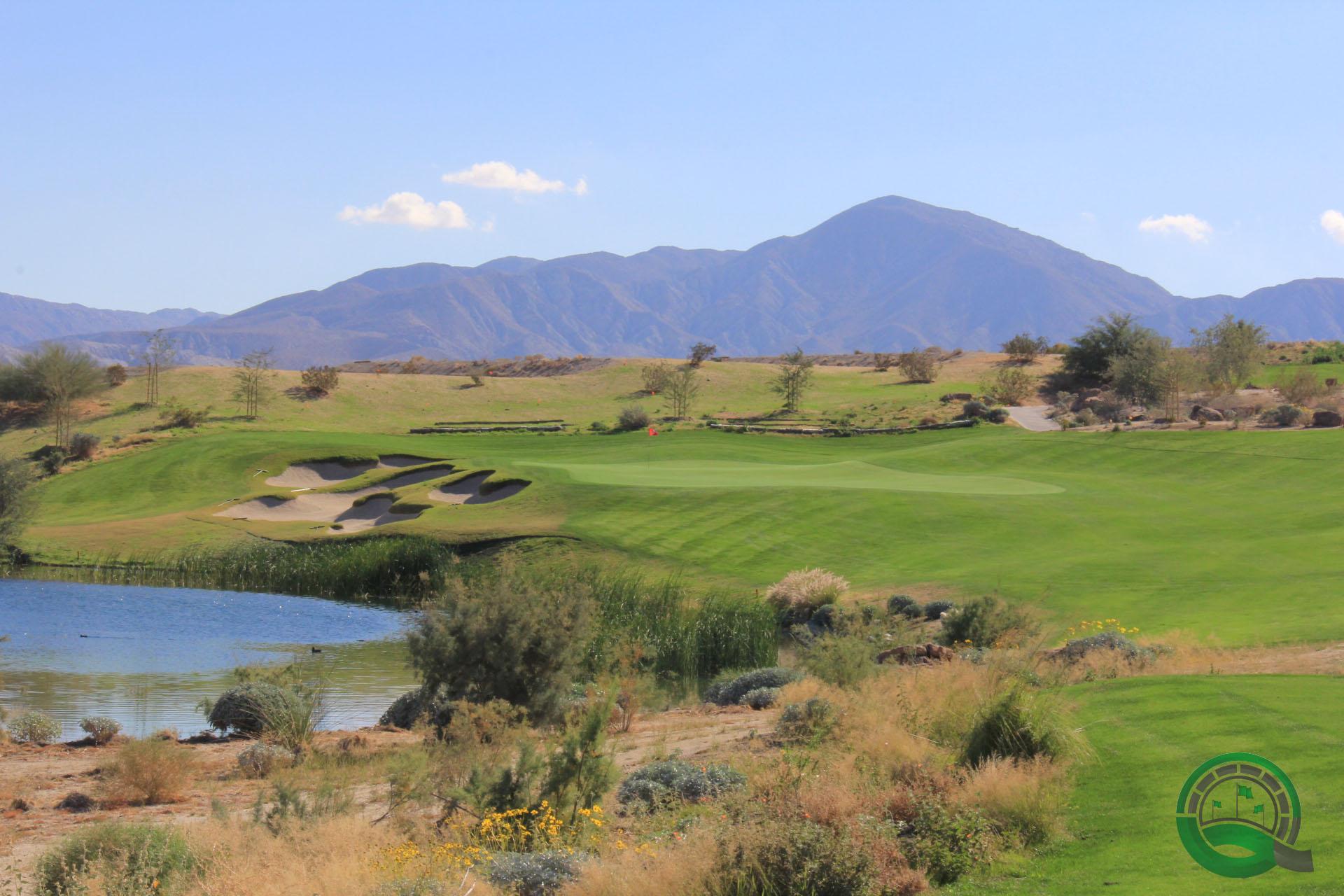 Rams Hill Golf Club Hole 5 Lake View