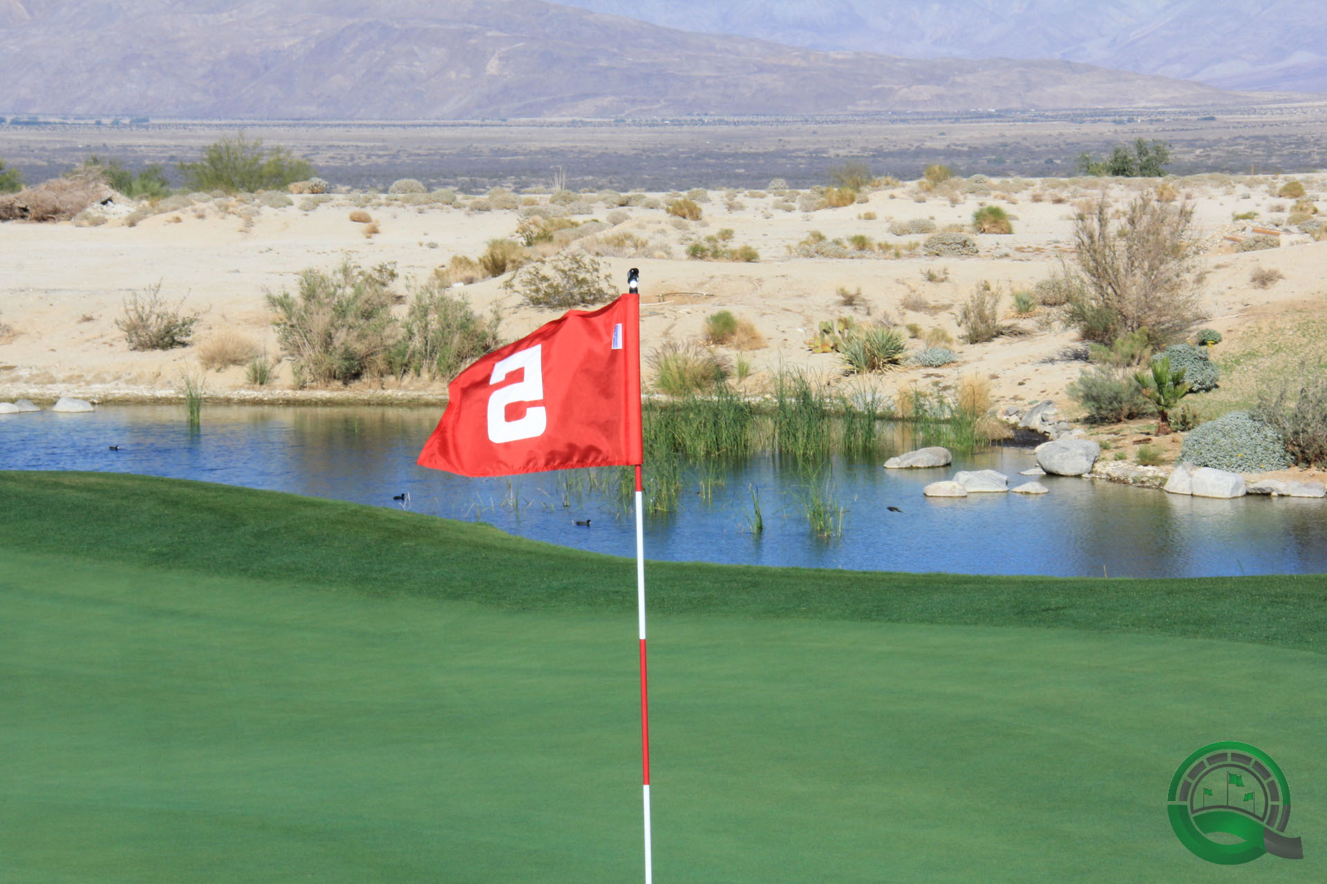 Rams Hill Golf Club Hole 5 Green