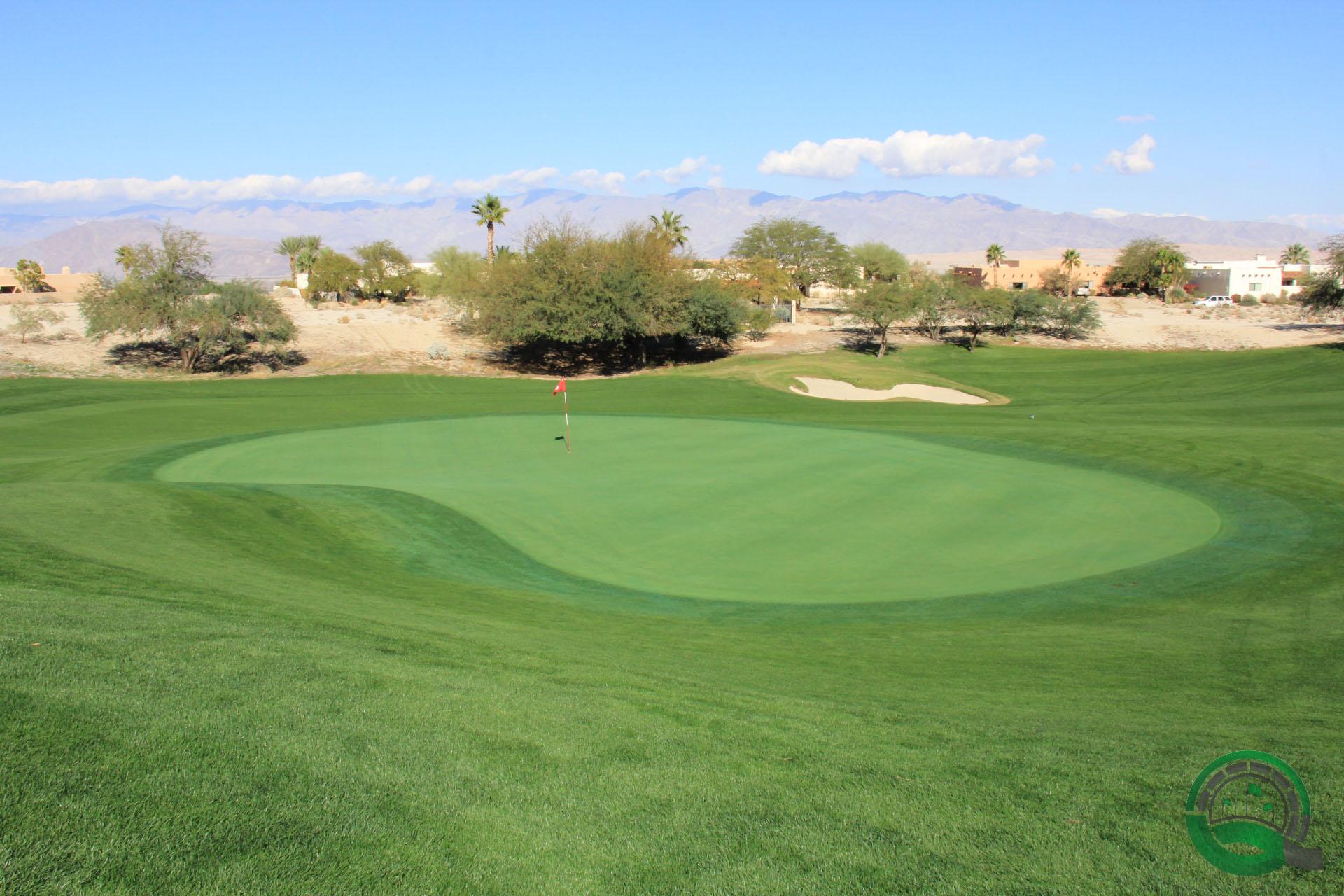 Rams Hill Golf Club Hole 6 Green