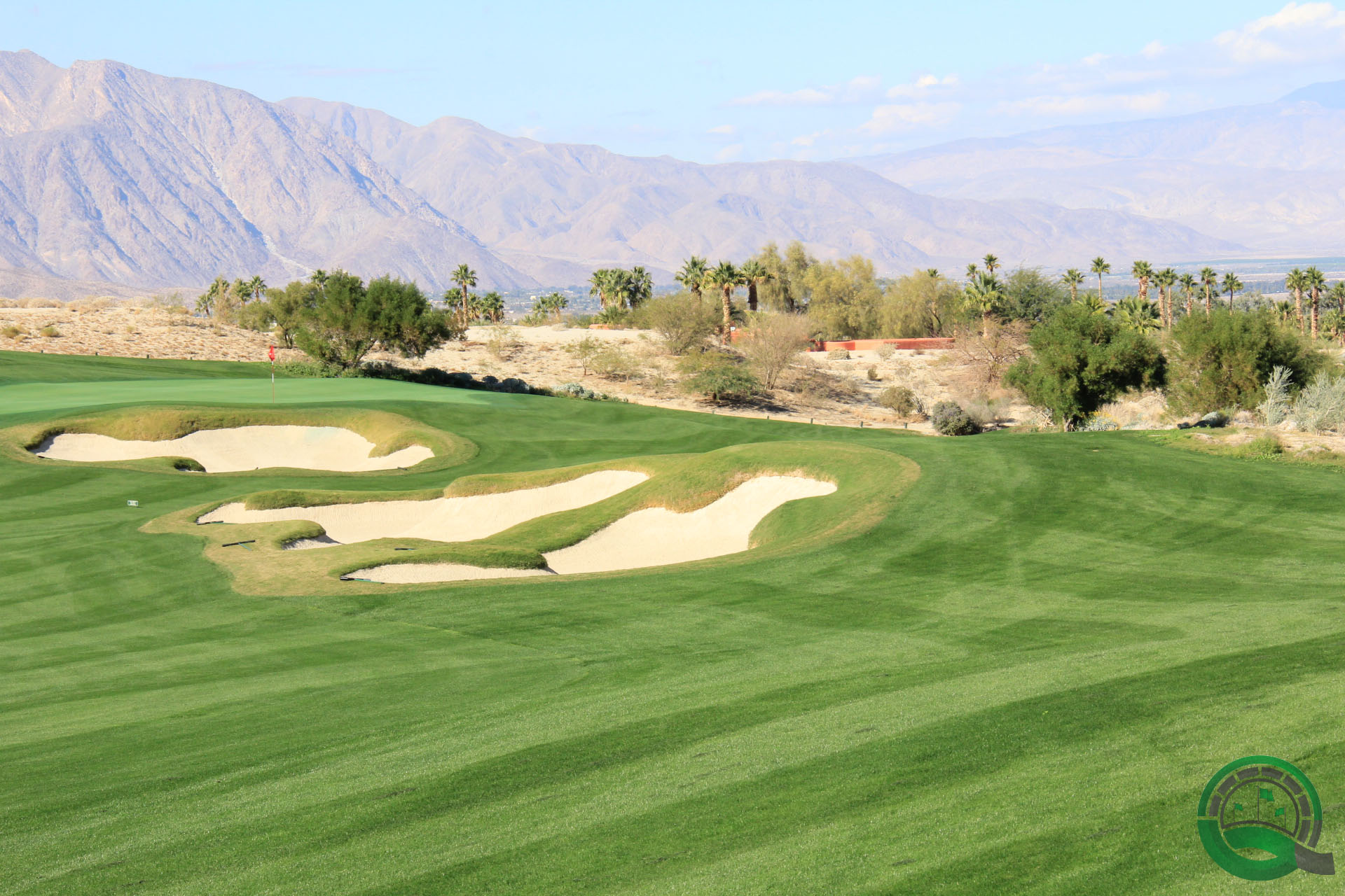 Rams Hill Golf Club Hole 7 Bunkers