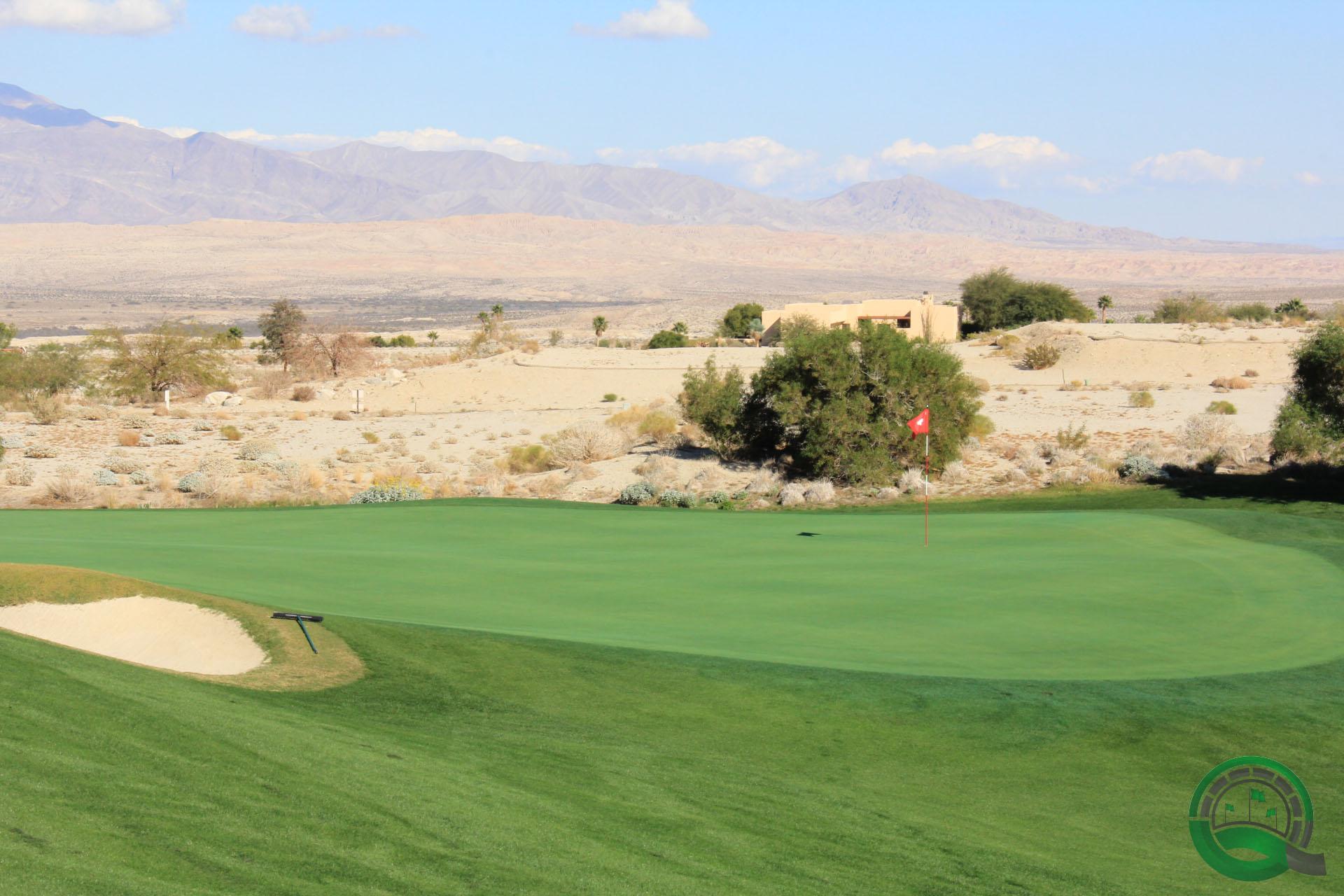 Rams Hill Golf Club Hole 7 Green