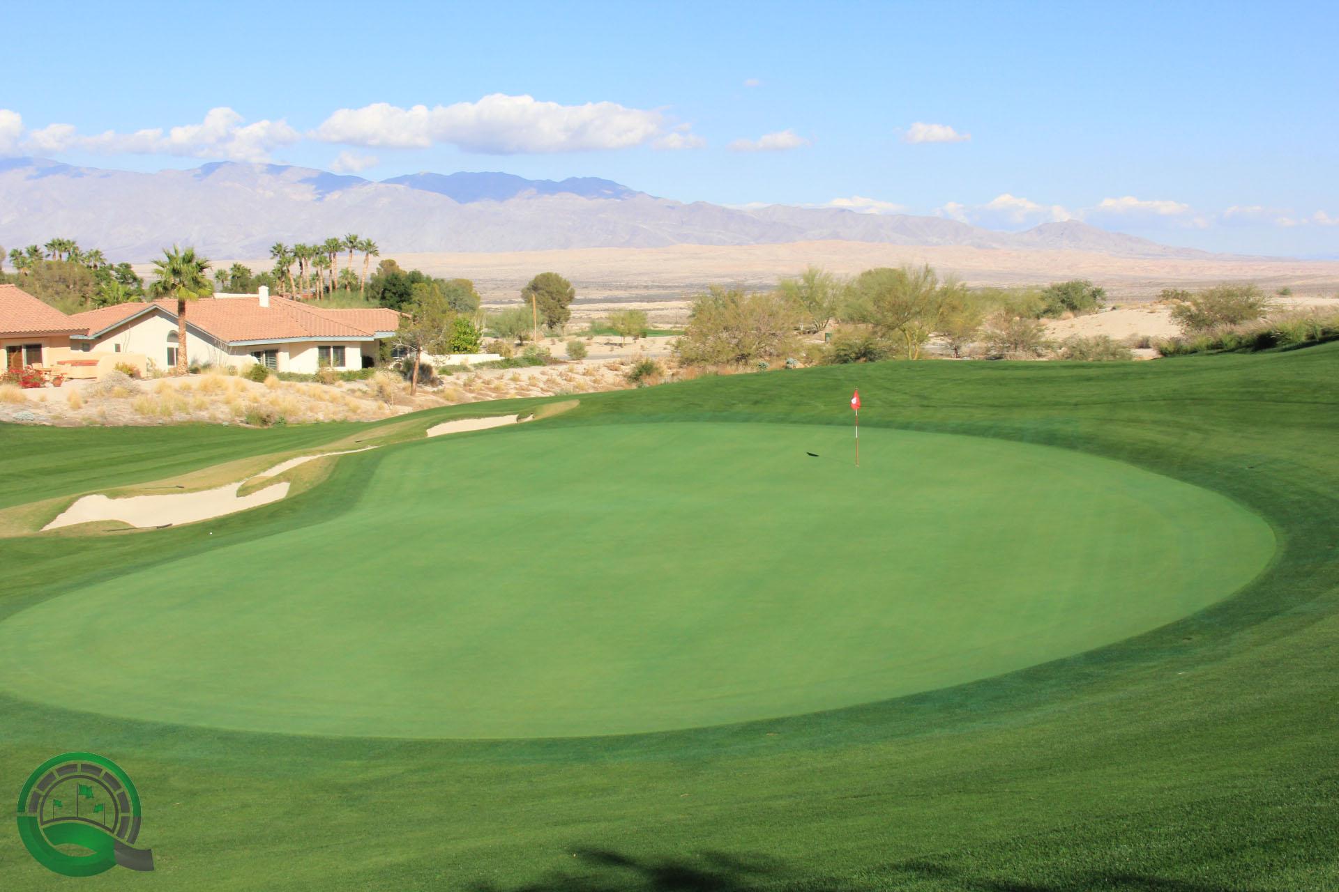 Rams Hill Golf Club Hole 8 Green