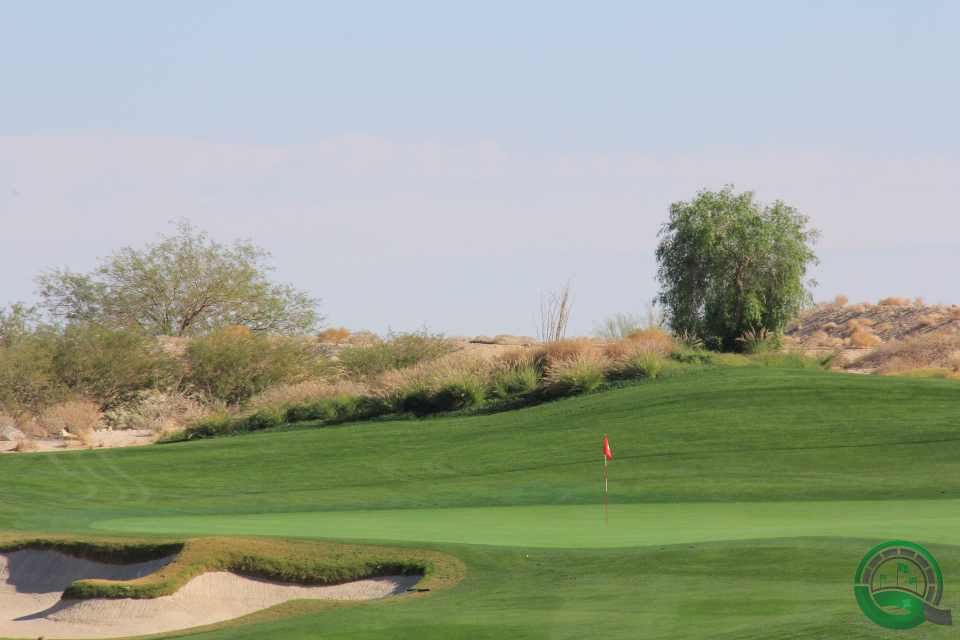 Rams Hill Golf Club Hole 8 Greenside