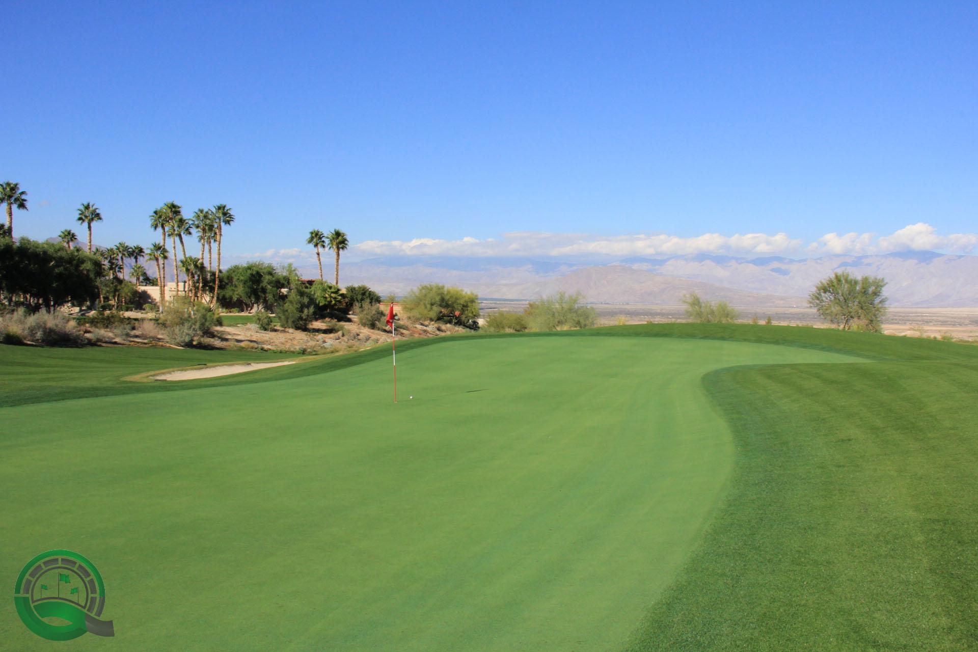 Rams Hill Golf Club Hole 9 Green