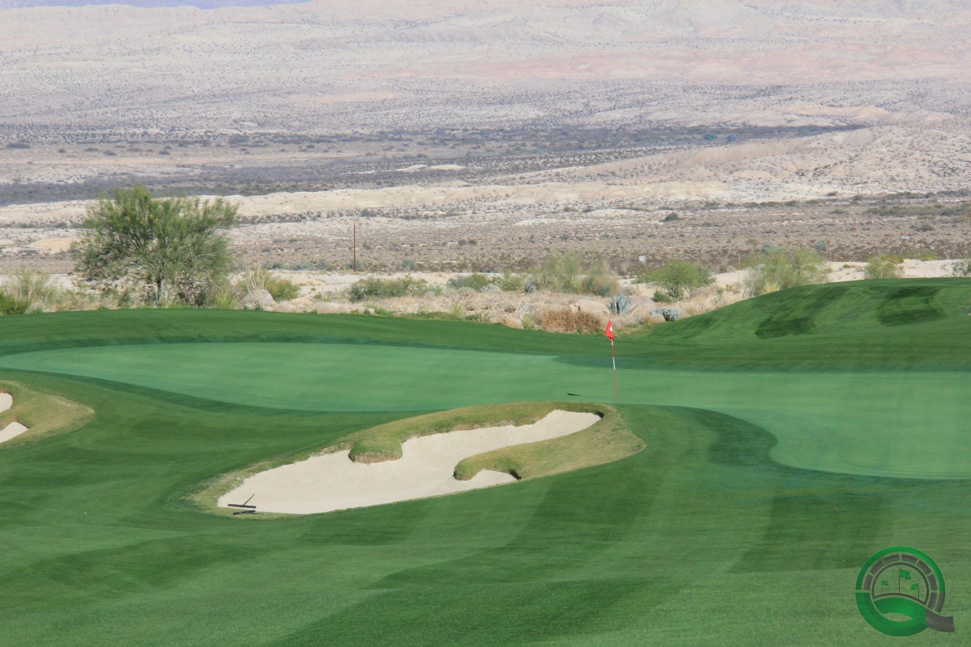 Rams Hill Golf Club Hole 9 Greenside