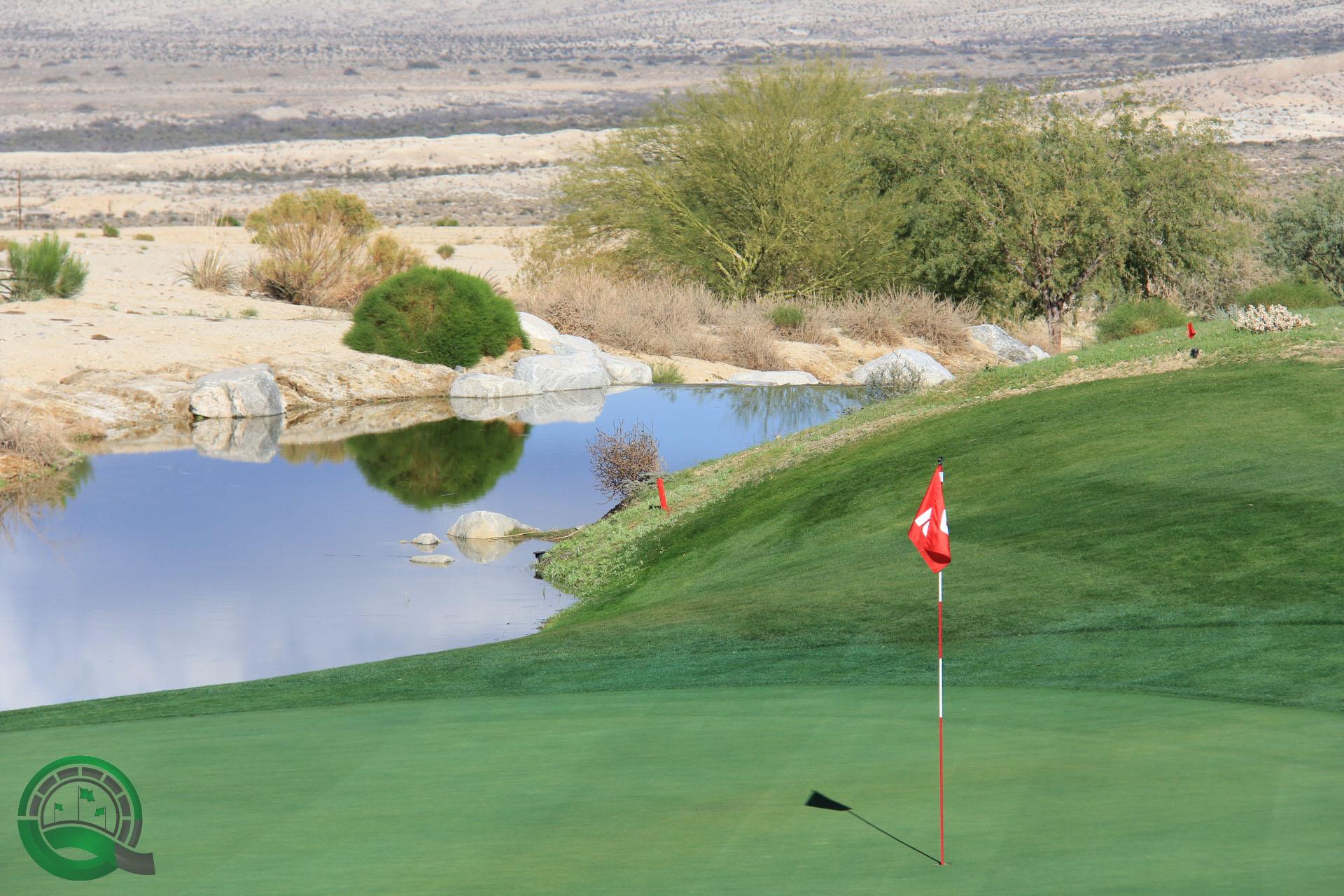 Rams Hill Golf Club Hole 10 - Green