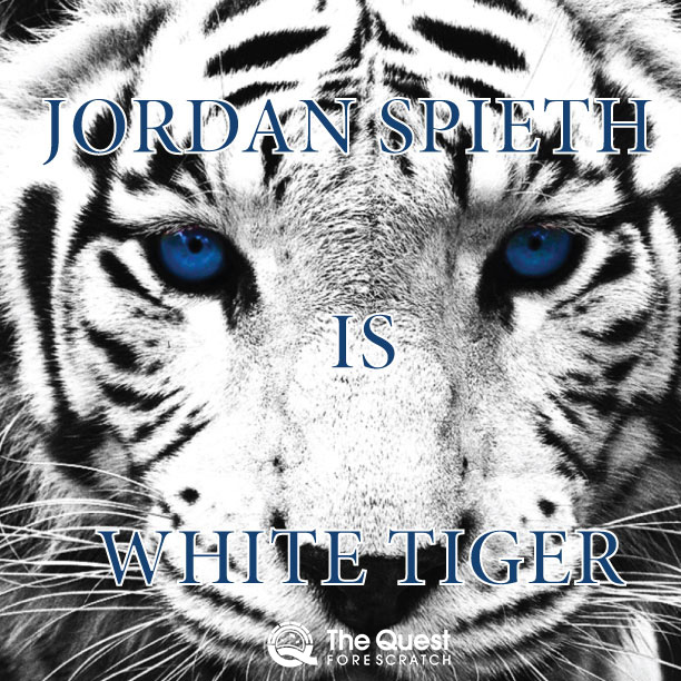 Jordan Spieth is White Tiger Woods