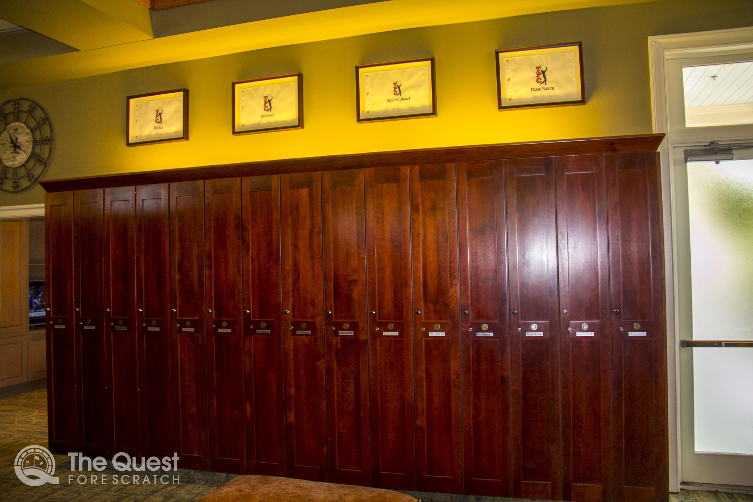 TPC Louisiana Locker Room
