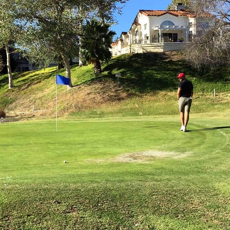 Golf Green and Putting