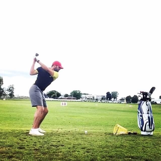 Golf Range Session