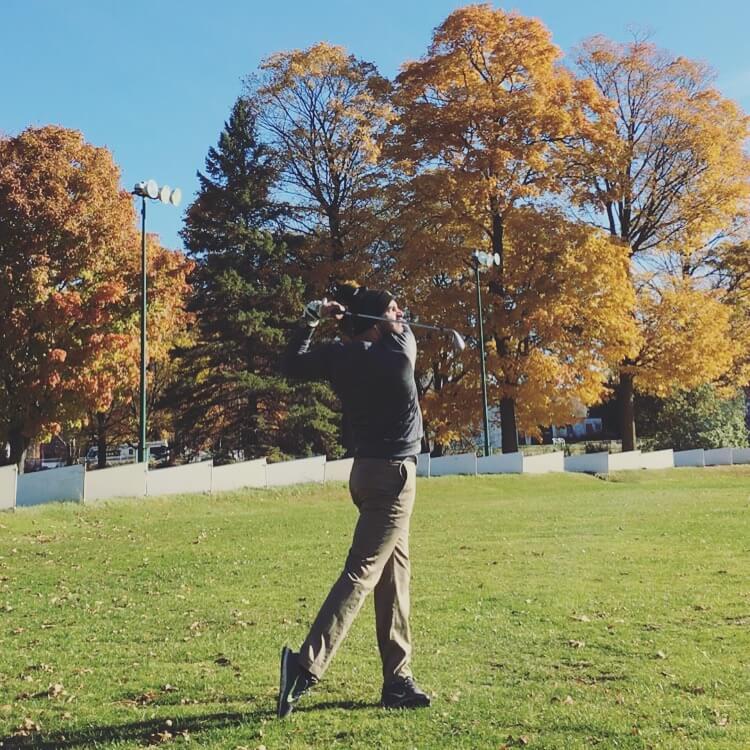 Golf Finish