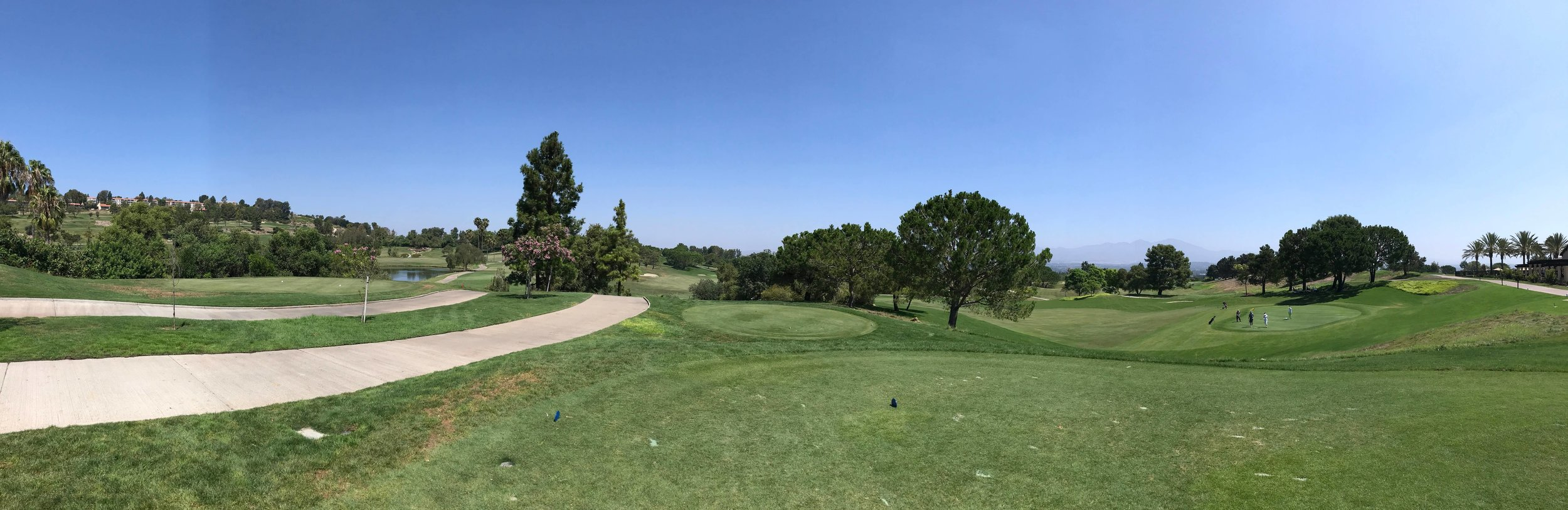 Panorama View Aliso Viejo Country Club