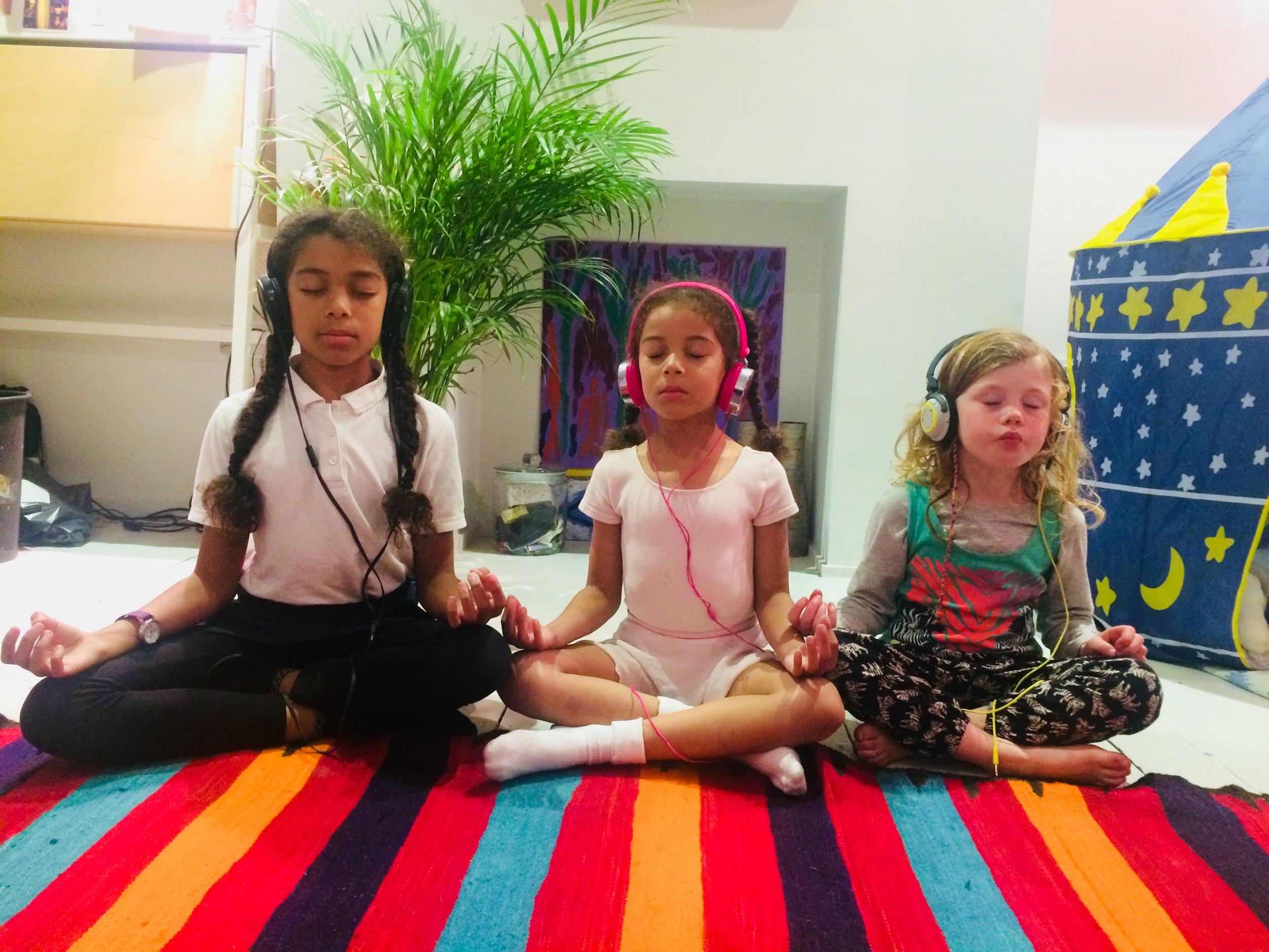 Children's guided meditation