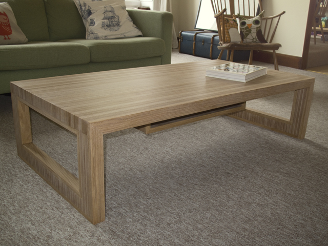 Laminated ply coffee table