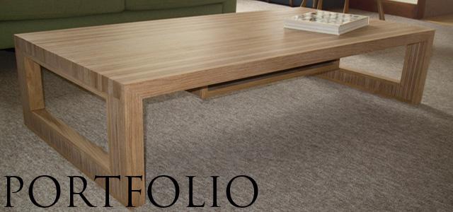 Tekton carpentry & design portfolio - bespoke handmade furniture maker Brighton Sussex